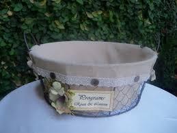 Basket For Wedding Programs 59 Best Card Box Images On Pinterest Wedding Cards Wedding