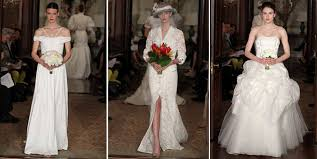 high wedding dresses 2011 2011 wedding dresses by carolina herrera high fashion and couture
