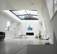 glass roof house glass roof of a beautiful house london