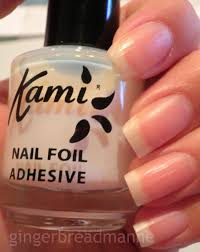 tutorial nail art foil gingerbreadmanne nail foils tutorial