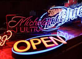 michelob ultra vs bud light neon bar signs incl bud light budweiser yuengling michelob ultra