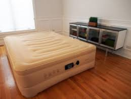 Inflatable Bed With Frame Queen Air Mattress With Built In Pump Tbliz