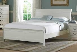 White Full Size Bedroom Set Homelegance Marianne Bed White 539w 1