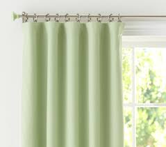 Pottery Barn Curtain Hardware Sailcloth Blackout Panel Pottery Barn Kids