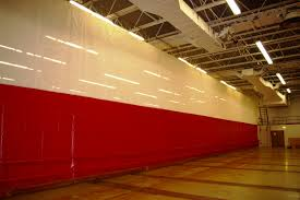 gym partitions aen entry solutions gym divider curtain service and