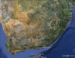Google Maps Africa by South Africa Brian Abbott