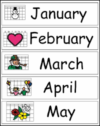 chsh teach learning about time months days and telling time