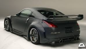nissan 350z z33 review nissan 350z veilside v3 style carbon rear spoiler u2013 carbon addiction