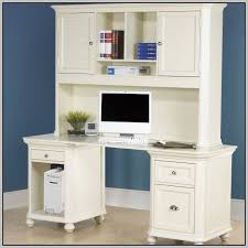 White Computer Desk With Hutch Awesome White Computer Desk With Hutch White Desk And Hutch