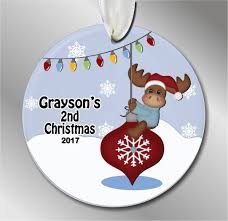ornaments custom ornament baby s nd