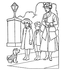 mary poppins coloring pages snapsite me