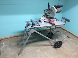 Ridgid Table Saw Extension Ridgid Miter Saw Stand U2013 An Suv For Your Chop Saw Home Fixated