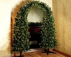 pre lit christmas tree pre lit christmas tree arch the green