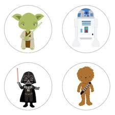 wars edible image wars inspired edible cupcake toppers decoration