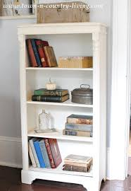 Bookshelf Makeover Ideas Chalk Paint Bookcase Makeover Jennifer Rizzo