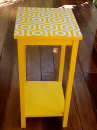 yellow end table chele coffee table side tables and end tables