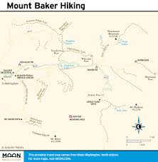Washington State Printable Map by Mount Baker Washington Map U2013 Swimnova Com