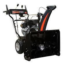 black friday snowblower deals sno tek 24 in 2 stage electric start gas snow blower 920402 the