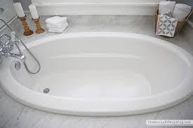 bathroom shelves tub sunny side up blog