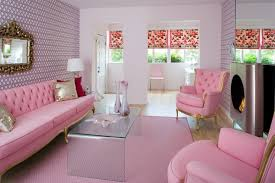 long tufted sofa interior decoration gorgeous pink room with long pink modern