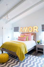 Yellow Grey And White Bedding Yellow And Black Bedroom With Yellow Chevron Bedding