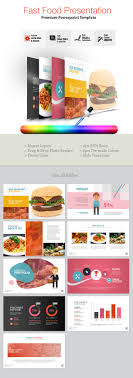 Fast Food Powerpoint Template By Pantonstudio Graphicriver Fast Food Ppt