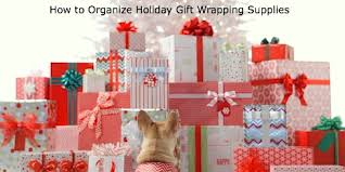 wrapping supplies how to organize gift wrapping supplies