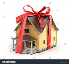 real estate concept house architectural model stock illustration
