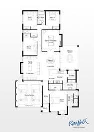 australian houses 4 bedroom modern home house plans australia