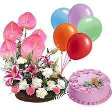 cake and balloon delivery online ludhiana florist ludhiana flower balloons cake delivery