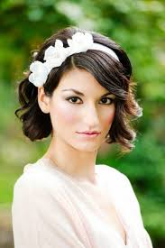 hairstyle for short hair for wedding wedding hairstyles short hair