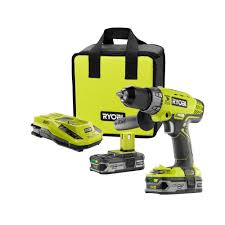 Ryobi Portable Flooring Saw by Ryobi 18 Volt One Lithium Ion Cordless Hammer Drill Kit P1812