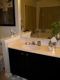 remodelaholic master bathroom makeover with black cabients