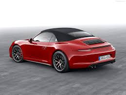 red porsche convertible porsche 911 carrera gts 2015 picture 25 of 28