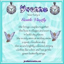 yvonne name jewels creation