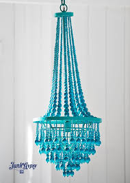 turquoise beaded chandelier blue beaded chandelier get it at uptown country home chandelier