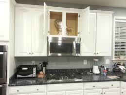 creative wine rack in vent hood cabinet