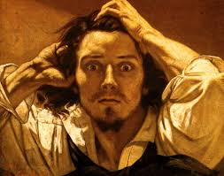 gustave courbet the desperate man c 1843 1845