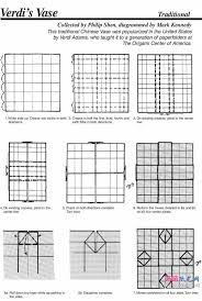 3d Origami Flower Vase Instructions 86 Best Origami Images On Pinterest Origami Boxes Origami Paper