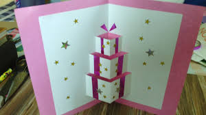 handmade pop up card youtube