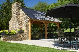 outdoor pool pavilions custom vinyl timber frame pa ny nj picture
