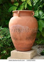 Clay Pot Garden Art - old clay pot stock images royalty free images u0026 vectors
