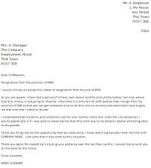 due to illness resignation letter example icover org uk