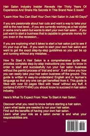 how to start a successful hair salon the simple guide to starting