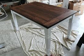 easy diy farmhouse table how to build a kitchen table plans farmhouse table plans awesome