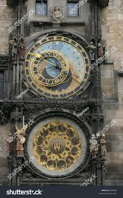 astronomical clock city hall on old stock photo 389009 shutterstock