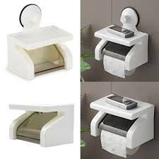 toilet paper stand portable toilet paper holder suction cup tissue roll stand