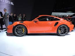 porsche gt3 rs orange geneva 2015 2016 porsche 911 gt3 rs revealed the truth about cars