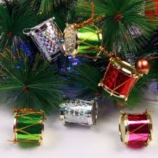 colormix xm1 12pcs decoration colours side drum ornaments