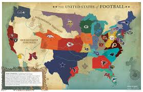 The United States Of America Map by Nfl Usa Map Jigsaw Puzzle Puzzlewarehousecom More Expansion